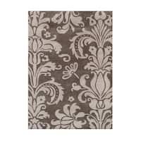 Alliyah Handmade Grey New Zealand Blend Wool Rug (10' x 12') - 10' x 12'