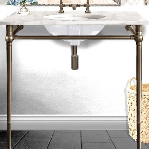 Highpoint Collection 17 x 14-inch Double Glazed Underside White Ceramic Sink
