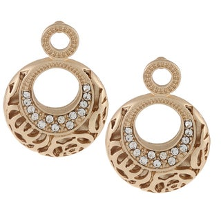 Alexa Starr Rose Pattern Post Earrings