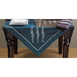 Embroidered Design Polyester Table Linens - Thumbnail 1
