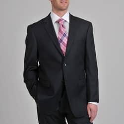 Prontomoda Europa Men's 'Super 140' Navy Wool Suit https://ak1.ostkcdn.com/images/products/6787448/Prontomoda-Europa-Mens-Super-140-Navy-Stretch-Wool-Suit-P14324968.jpg?impolicy=medium