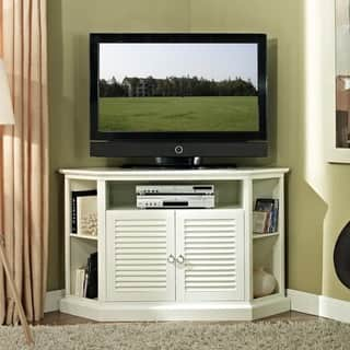 52 in. White Wood Corner TV Stand|https://ak1.ostkcdn.com/images/products/6787459/P14324973.jpg?impolicy=medium
