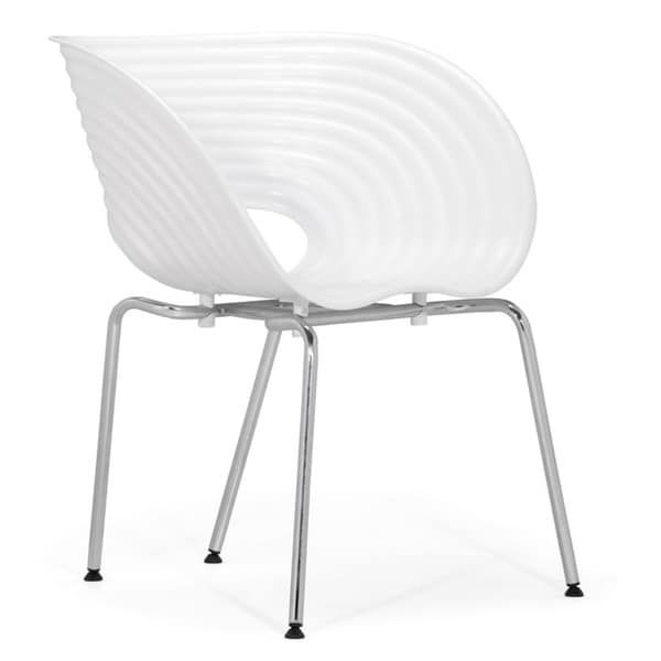 White Circle Dining Chair (Set of 4)