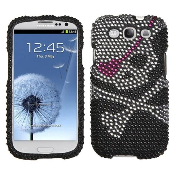 MyBat Samsung Galaxy S III/S3 Skull Rhinestone Case
