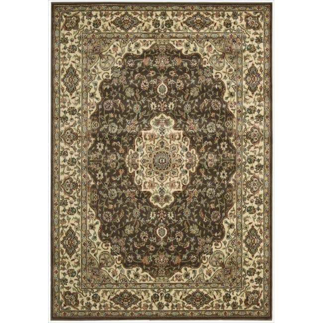 Nourison Persian Arts Brown Rug (5'3 x 7'5) - 5'3 x 7'5