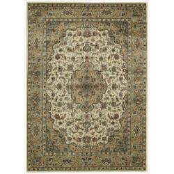 """Nourison Traditional Persian Arts Ivory Rug (5'3"""" x 7'5"""")"""
