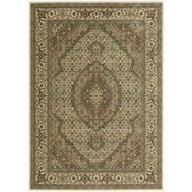 Nourison Persian Arts Ivory Rug - 5'3 x 7'5
