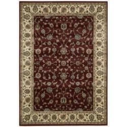 Nourison Persian Arts Burgundy Rug (5'3 x 7'5)