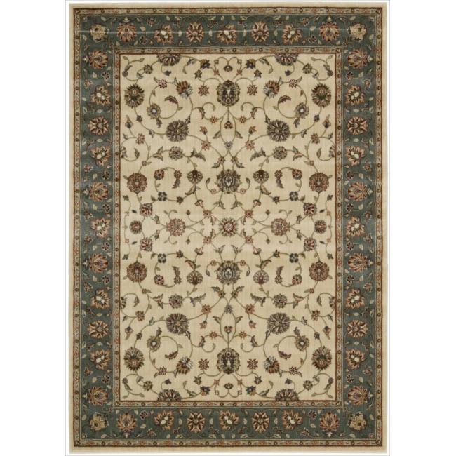 Nourison Persian Arts Ivory Area Rug - 5'3 x 7'5