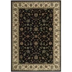 Nourison Persian Arts Black Rug (5'3 x 7'5)