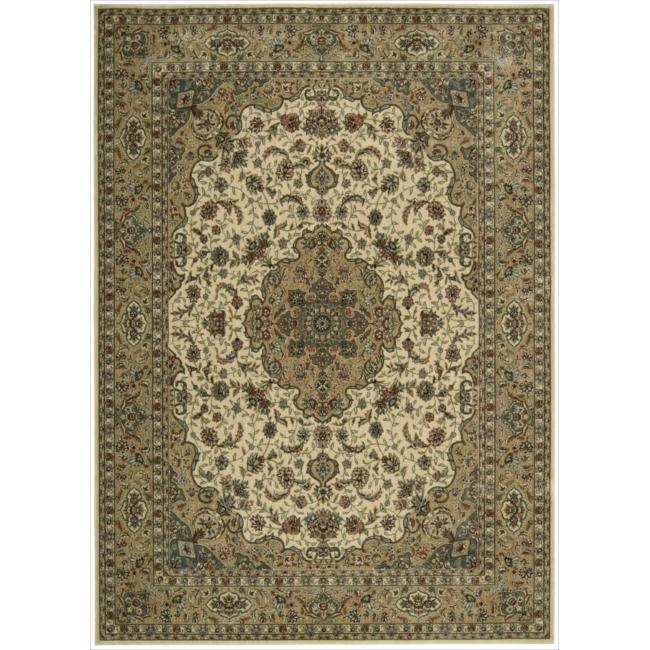 """Nourison Traditional Persian Arts Ivory Rug (7'9"""" x 10'10"""")"""