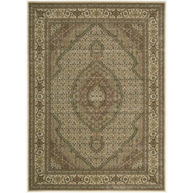 Nourison Persian Arts Ivory Rug - 7'9 x 10'10