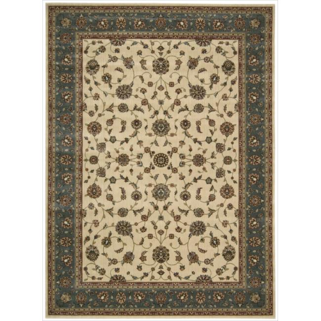 "Nourison Persian Arts Ivory Floral Rug (7'9"" x 10'10"")"