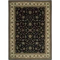 Nourison Persian Arts Black Rug - 7'9 x 10'10