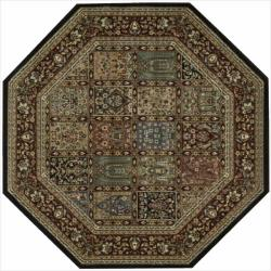 Nourison Persian Arts Multi Rug (5'3 x 5'3) Octagon - 5'3 x 5'3
