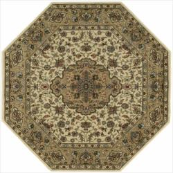 Nourison Persian Arts Ivory Rug (5'3 x 5'3) Octagon
