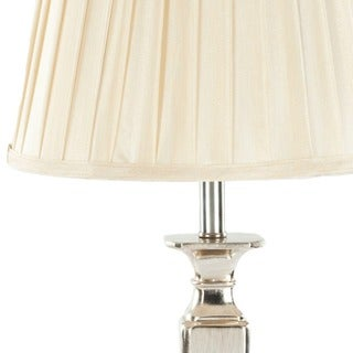Safavieh Lighting 28-inch Chatham Champagne Silk 60-Watt Table Lamps (Set of 2)