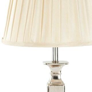 Safavieh Lighting 28-inch Chatham Champagne Silk 60-Watt Table Lamps (Set of 2)