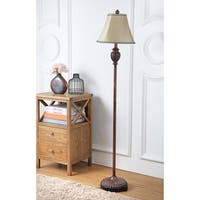 Safavieh Lighting 61-inch Dartmouth Silk Floor Lamp