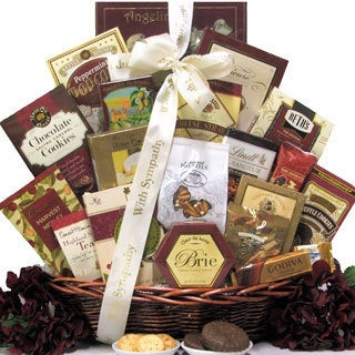 Great Arrivals Our Sincere Condolences Sympathy Gift Basket