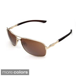 Hot Optix Large Men's Square Aviator Sunglasses
