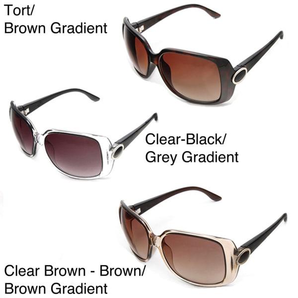 Hot Optix Women's LA16017 Square Sunglasses