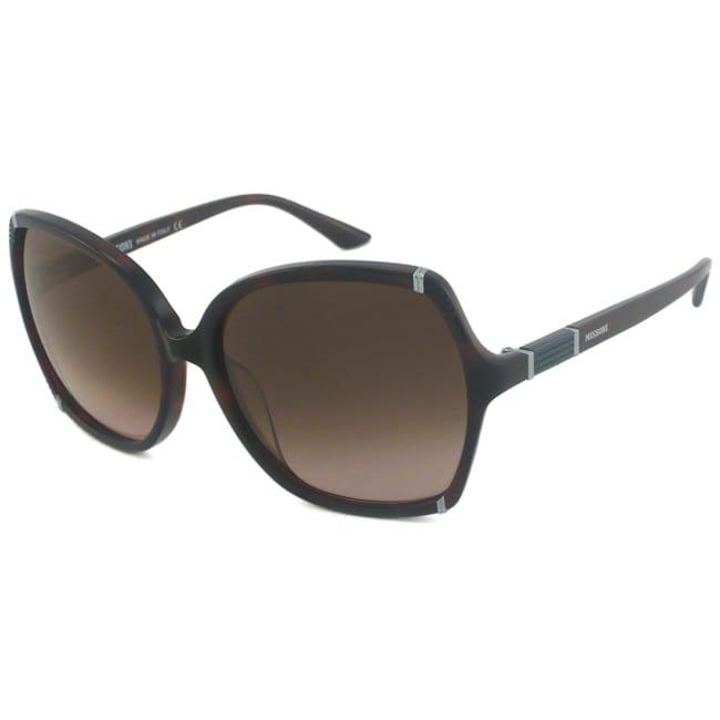 Missoni Women's MI727 Rectangular Sunglasses