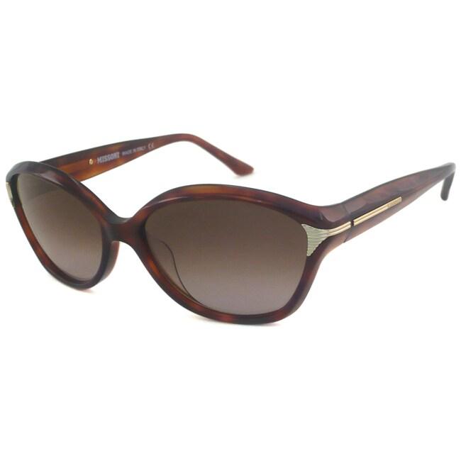 Missoni Women's MI730 Rectangular Cat-Eye Sunglasses
