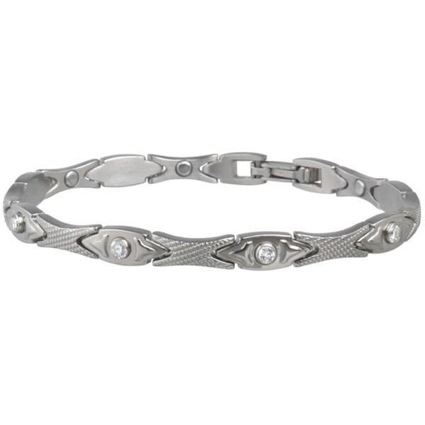 Sabona Lady Executive Matte Gem Magnetic Bracelet
