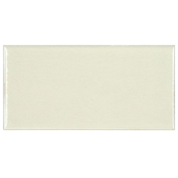 Somertile 3 x 6-inch Cream Ceramic Wall Tile (Case of 64)