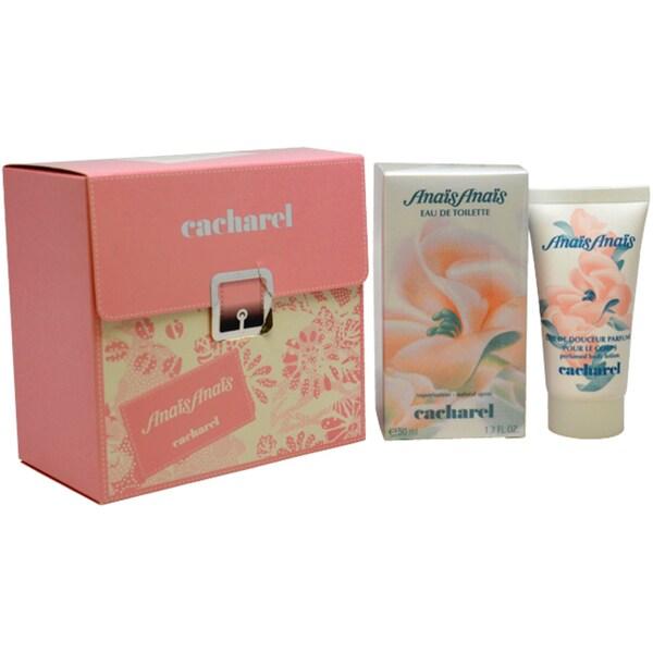 Shop Cacharel 'Anais Anais' Women's 2-piece Fragrance Gift Set - Free Shipping Today - Overstock - 6788101