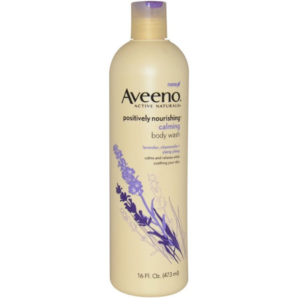 Aveeno Active Naturals Positively Nourishing Hydrating 6-ounce Body Wash