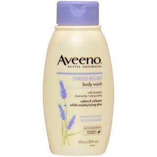 Aveeno Active Naturals Stress Relief 12-ounce Body Wash