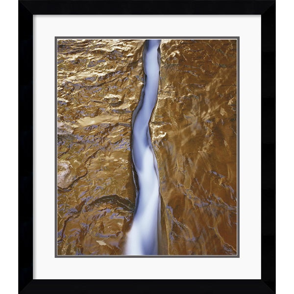 Will Connor 'Water Ribbon' Framed Art Print