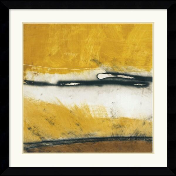 Niro Vasali 'Venture I' 33 x 33-inch Framed Art Print