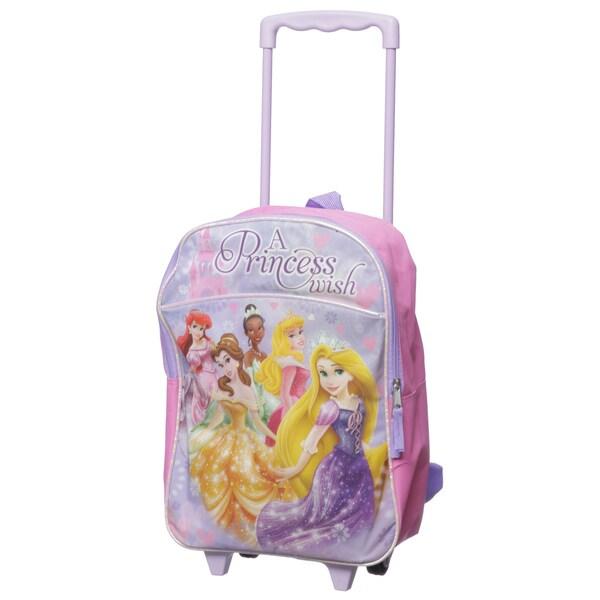 Disney Princess Kids Rolling Backpack
