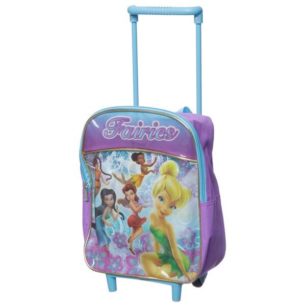 Disney Fairies 12-inch Kids Rolling Backpack