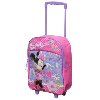 Disney Minnie Mouse 16-inch Kids Rolling Backpack