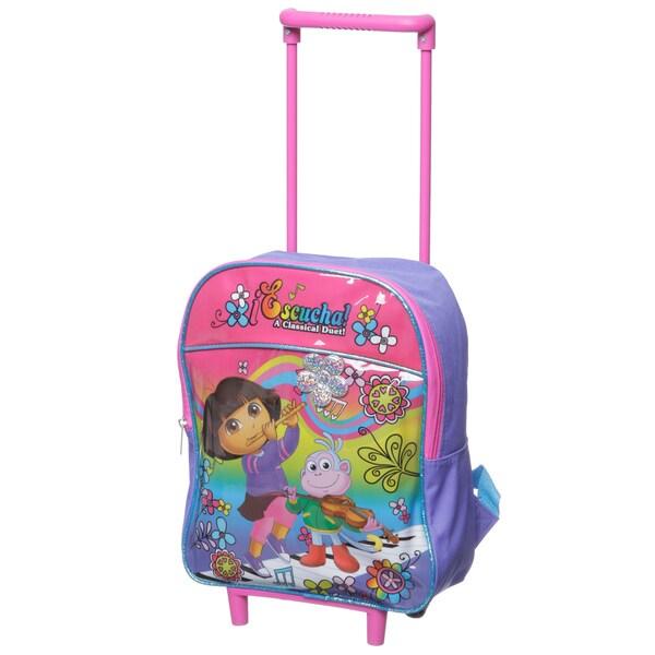 Nickelodeon Dora 12-inch Rolling Backpack