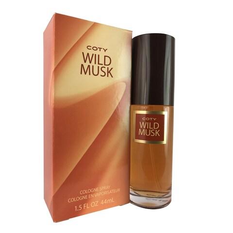 Coty Wild Musk Women's 1.5-oune Cologne Spray