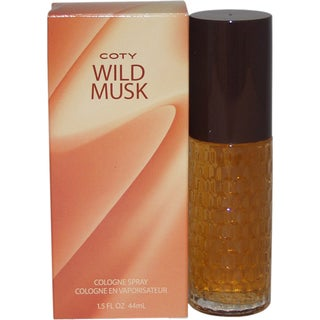 Coty Wild Musk Women's 1.5-oune Cologne Spray