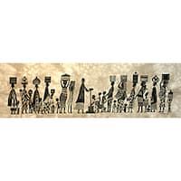 Water' Heidi Lange Screen Print  , Handmade in Kenya