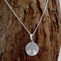 Flourishing Tree of Love Life Pendant .925 Silver Necklace (Thailand)