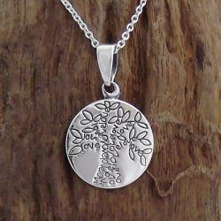 Handmade Flourishing Tree of Love Life Pendant .925 Silver Necklace (Thailand)