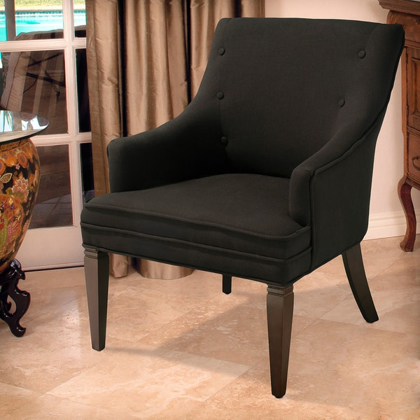 Christopher Knight Home Lindsay Dark Brown Accent Chair