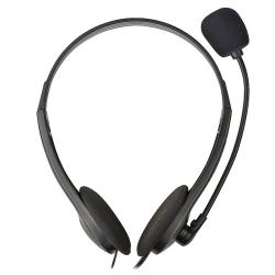 INSTEN Black VOIP/ SKYPE Headset with Microphone