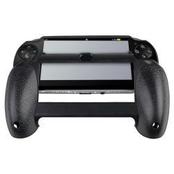 INSTEN Black Hand Grip for Sony PlayStation Vita - Thumbnail 1