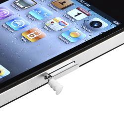 INSTEN Headset Dust Cap for Apple iPod/ iPhone/ iPad for Apple iPhone 4/ 4S/ 5/ 5S/ 6