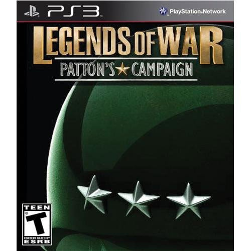 PS3 - History Legends of War: Patton