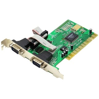 SYBA Multimedia 2 DB-9 Serial (RS-232) Ports PCI Controller Card, Net